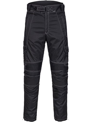 *Motorradhose Motorrad Hose Cordura Textil Touren Touring Roller Quad Biker Schwarz Gr. M L XL XXL 3XL 4XL Neu Limitless 782 (Schwarz / M)*