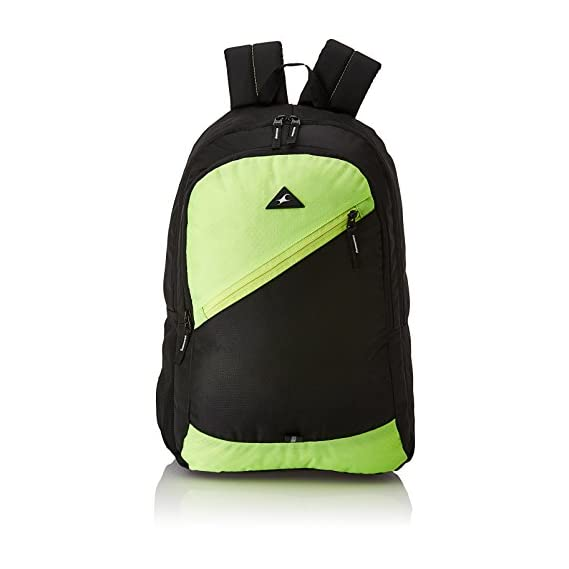 Fastrack 20.24 Ltrs Green School Backpack (A0697NGR01)
