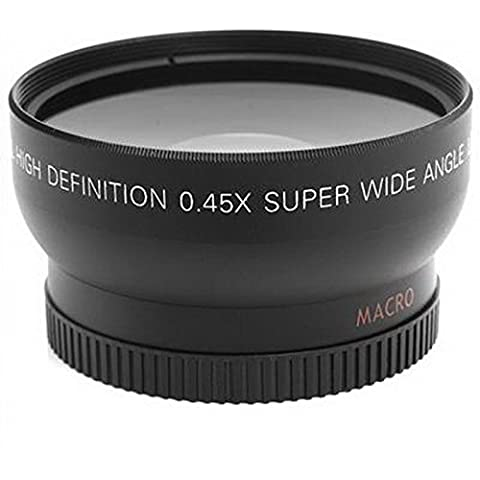 Goliton® los 52MM 0.45X Lente Gran Angular + Macro + Bolsa de lente para Nikon D5000 D3100 D5100