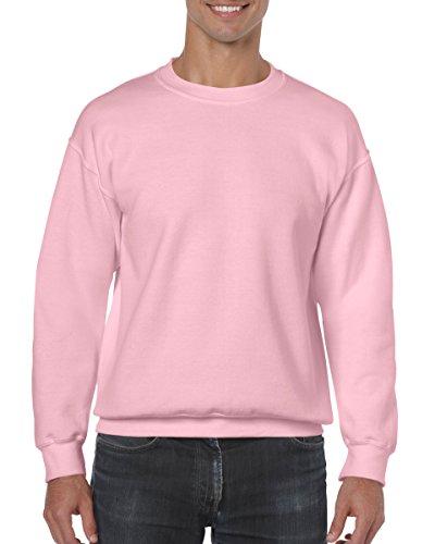 Heavy Blend Crewneck Sweatshirt - Farbe: Light Pink - Größe: S - Heavy Blend Crewneck Sweatshirt