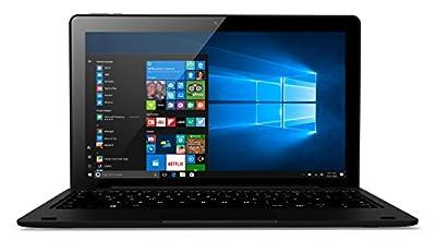 Odys Fusion Win 2in129,5cm (11,6pollici) Tablet PC (Intel Atom QuadCore z8350X5, Full HD IPS display, 32GB Flash Disk, Win 10, Micro HDMI, micro USB Anschluss) nero