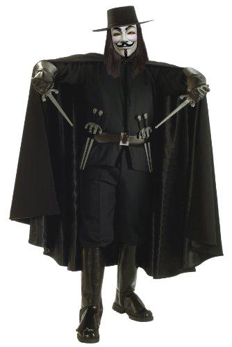 Rubies V For Vendetta Grand Heritage Deluxe - Erwachsene Kosrtüm XL (Vendetta Kostüm Deluxe)