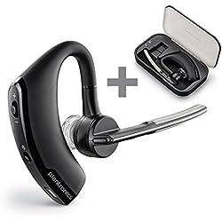 Plantronics Voyager Legend - Manos libres Bluetooth para móvil, negro