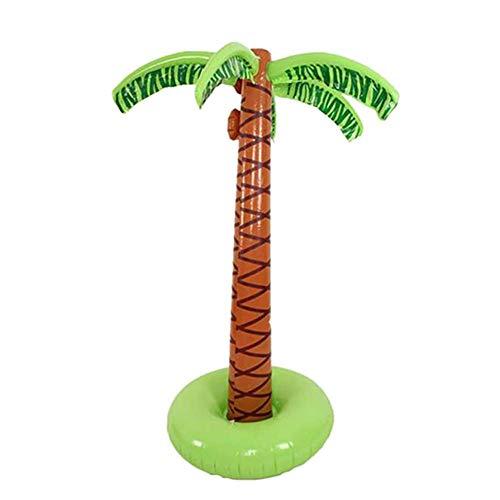 Sprinkler, Aufblasbar Spielzeug Kokosnuss Baum-Dekoration für Außen Party ()