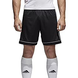 adidas Squad 17 Sho, Pantaloncini Uomo, Nero/Bianco, S