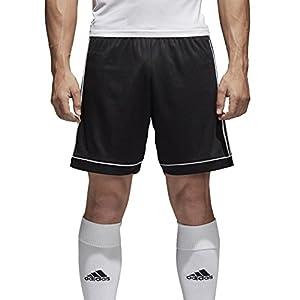 adidas Squad 17 Sho, Pantaloncini Uomo, Nero/Bianco, 164