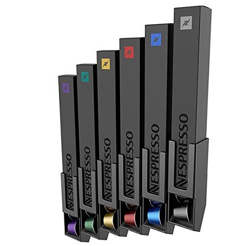 Tavola Swiss 5049062dispensador de cápsulas boxwall para 60Cápsulas de Nespresso, plástico, 20x 20x 10cm