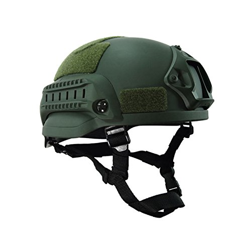 Espeedy Military Mich 2000 Helmet Army Combat Head Protector Airsoft Wargame Paintball Field Gear Accessories