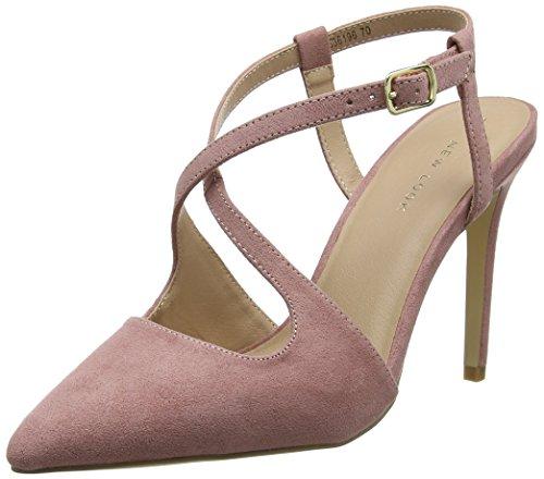 New Look Torrential, Zapatos con Tacon y Correa de Tobillo para Mujer, (Light Pink 70), 36 EU