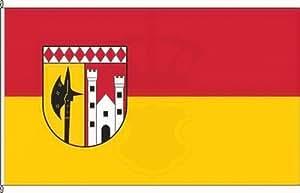 Königsbanner Kleinfahne Ulmen - 20 x 30cm - Flagge und Fahne