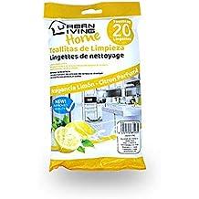URBAN LIVING HOME 2 PTES TOALLITA Toda Superficie Limon X20 Unidades