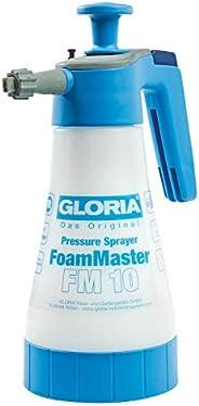 GLORIA FoamMaster FM 10 Pianownica ręczna, pojemność napełniania 1 l, wymienne końcówki pieniące, rozpylacz po