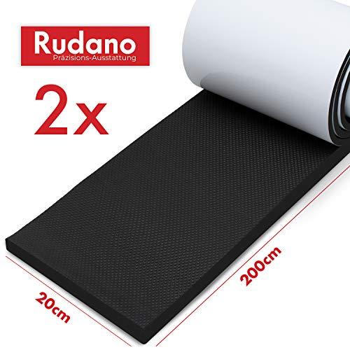 Protection murale Rudano - mousse auto-adhésive (2m | Extra épais | 7mm) comme protection murale de garage -...