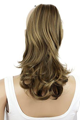 Haarverlängerung, 35 cm, 120 g, glatt, leicht gewellt, -
