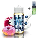 E Liquide The One Blueberry Cereal Donut Milk 100ml – 70 vg 30 pg – booster shortfill - Sans nicotine + Liquide The Boat 10ml Citron et citron vert - Sans nicotine et sans tabac.