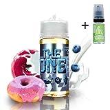 E Liquide The One Blueberry Cereal Donut Milk 100ml - 70 vg 30 pg - booster shortfill...