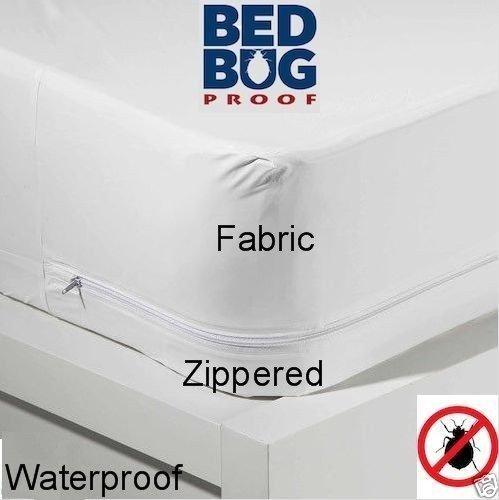 DINY Better Home & Style Queen Size Stoff Reißverschluss Matratze Bezug hält Out Bettwanzen & Staub Milben Wasserabweisend Displayschutzfolie 203,2x 152,4x 30,5cm Tief