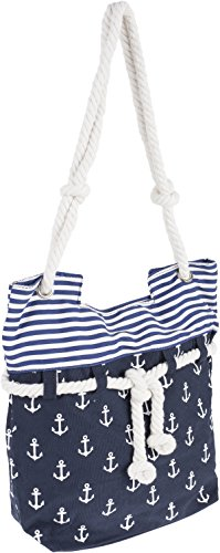 Küstenluder ALENA Sailor ANCHOR Anker Nautical Canvas SHOPPER Bag Rockabilly -