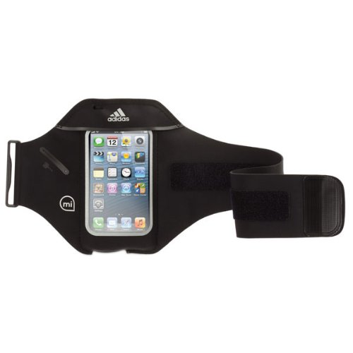 Griffin GB36062 Sportarmband - adidas miCoach - Apple iPhone 5/5S/5SE / iPod Touch (5th) - Schwarz (Ipod Running Sleeve)