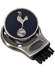Tottenham Hotspur F.C. Tottenham - Cepillo de accesorio para bolsa de palos de golf, color negro