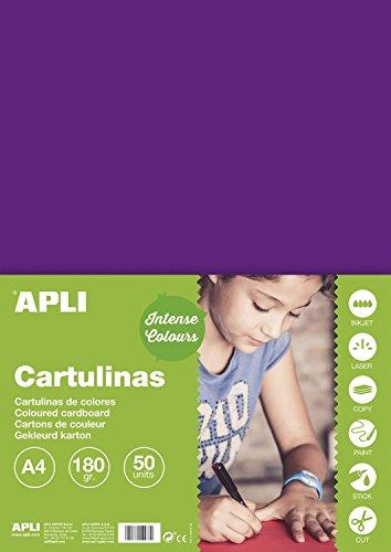 Karton 180g A450H violett
