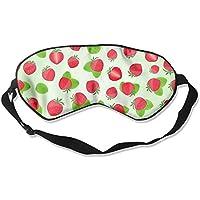 Red Strawberry Seamless Illustration Art Sleep Eyes Masks - Comfortable Sleeping Mask Eye Cover For Travelling... preisvergleich bei billige-tabletten.eu
