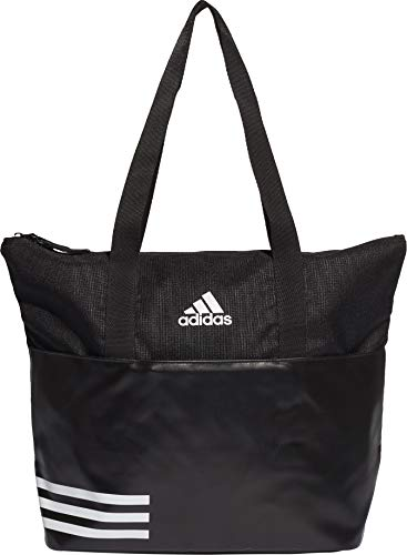 adidas Damen DW9026 Henkeltasche, Mehrfarbig Negro/Blanco, 34x39x18 centimeters