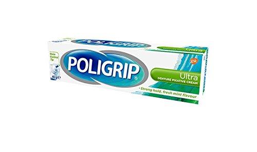 Poli-Grip Zahnersatz Fixierungscreme Ultra 40g