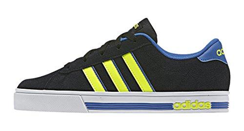 adidas  Daily Team K, Chaussures de sport mixte bébé Negro / Amarillo / Azul