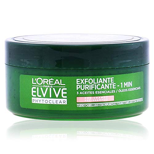 L'Oreal Paris Elvive Phytoclear Anticaspa - Exfoliante
