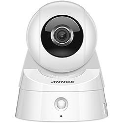 ANNKE IP Kamera /Netzwerk Kamera / WLAN Überwachungskamera / Überwachungskamera, HD 1080P mit Infrarot Nachtsicht, 80 °schwenkbar, Bewegungserkennung, PIR Wärmesensor