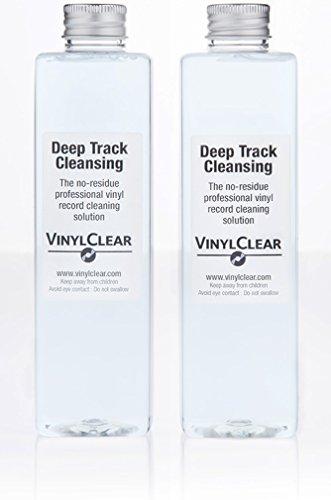 Professioneller und antistatischer Vinyl-Schallplatten & LP-Reiniger (500ml), Reinigungslösung für Schallplatten