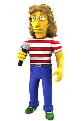 NECA Simpsons 25th Anniversary - Roger Daltrey 12,5 cm Action Figure Series 2 1