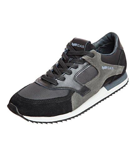 Gas Footwear .doraemon Scarpe da ginnastica, colore: nero e grigio., Multicolore (44), -
