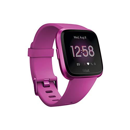 Fitbit Versa Lite Reloj Inteligente, Adultos Unisex, Morera Aluminio, Talla única