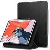 ESR Coque Smart Cover Magnétique pour iPad Pro 11 (2018) (Noir Mystérieux), [Compatible avec Apple Pencil], Housse Etui de Protection avec Support Multi-Angle