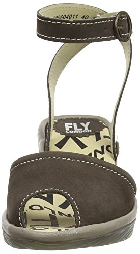 Fly London - POPA604FLY, Sandali Donna Beige (Beige (Ground/Mushroom))