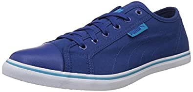 Puma Men's PumaStreetballerDP Limoges, Atomic Blue and White Sneakers - 10UK/India (44.5EU) (36176101)