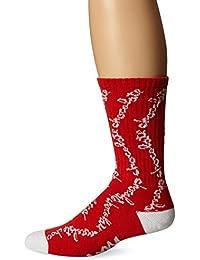 Huf X Chocolate Chunk Crew Socks Red