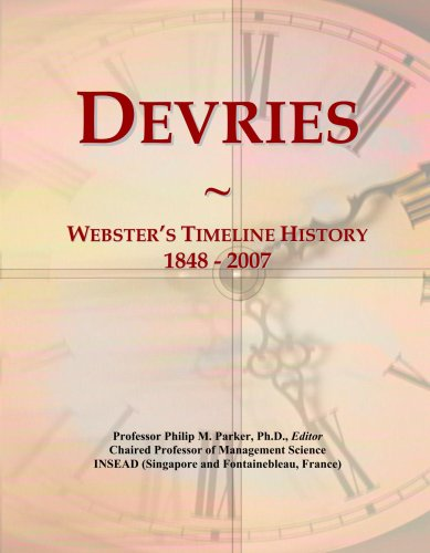 devries-websters-timeline-history-1848-2007