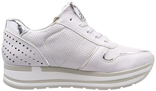 Marco Tozzi Damen 23717 Sneaker Weiß (White Comb)