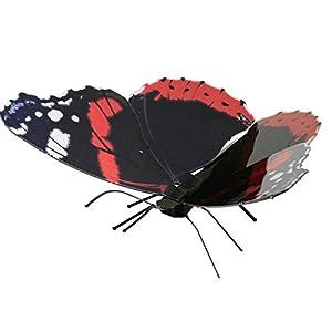 Fascinaciones: Admiral Mariposa Roja - Kit De Modelos De Metal 3D