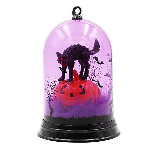 n Halloween bar ktv Einkaufszentrum Szene Layout Desktop-Dekoration Lichter, Katze Licht ()