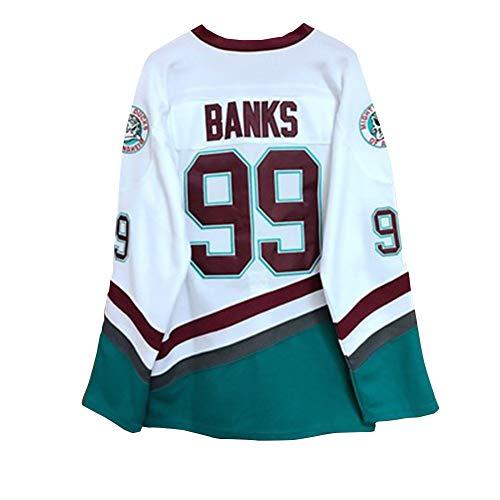 # 99 Movie Ice Hockey Jersey, Confort Transpirable/Versión de película Traje de Hockey sobre Hielo...