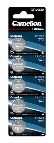 Camelion 13005032 Lithium Knopfzelle (3V, 5er Blister)