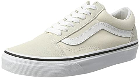 Vans Old Skool, Chaussures de Running Femme, Ivoire (Birch/True White), 39 EU