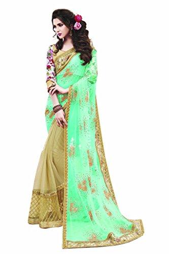 Mahotsav Women's Net Jacquard Silk