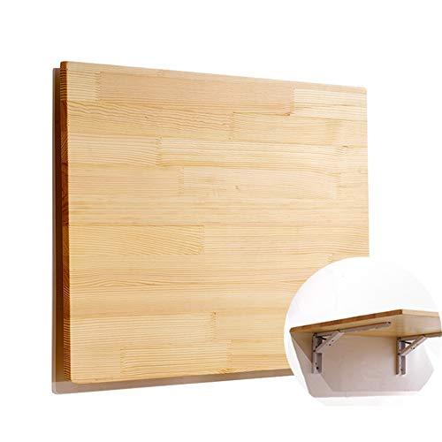 Wandmontierter Drop-Leaf Tisch Falten Wall Mounted Klapptisch Esstisch Multifunktions-Computertisch Schreibtisch, Größe Optional (größe : 80x40cm) -