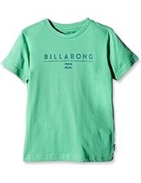 Billabong T-Shirt Unity Shortsleeve Boy - Camiseta / Camisa deportivas para hombre, color verde, talla 128 cm