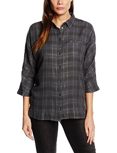 ONLY Onlbess Suki 3/4 Shirt Wvn-Camicia Donna    Multicolore(Phantom) 46